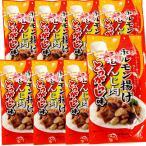 送料無料 広島名産 ホルモン揚げ せんじ肉 とうがらし味 8袋セット (1袋40g×8) ホルモン珍味 せんじがら  大黒屋食品