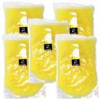 無農薬 無添加 ゆず 果実原液 100%  5リットル (1L×5) 冷凍 業務用 高知県 土佐名産会