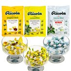送料込み リコラ ハーブキャンディー 3袋セット (1袋70g×3) (オリジナル レモンミント グラッシャーミント) 合成香料着色不使用