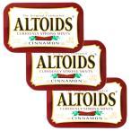 ALTOIDS アルトイズ ミントタブレット シナモン 50g×3個セット