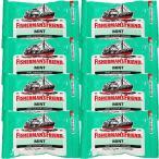 送料無料 フィッシャーマンズ フレンド ストロング ミント (緑) 8袋セット
