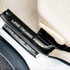 ランドクルーザープラド150系 アクセサリー カスタム パーツ スカッフプレート ステップインナーガーニッシュ FB146