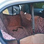 カー用品 犬用品 猫用品 汚れに強い 防水 水洗い対応 アウトドア 車載用 防水シート シートカバー ペット用ドライブシート TC003