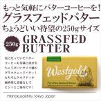 グラスフェッドバター!ちょうどいいサイズ感の250g!タンパク質や飽和脂肪酸たっぷりでバターコーヒーにもおすすめ!【250g】冷蔵/冷凍可