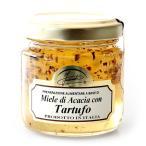 ピエモンテ産:高級食材 白トリュフを贅沢に使用したアカシアの蜂蜜!(120g)