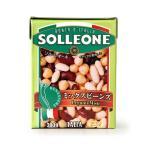 イタリア産:ミックスビーンズ(ひよこまめ、金時豆、白いんげんまめ)【380g】【常温/全温度帯可】※2月下旬入荷予定