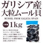 ムール貝 ガリシア産 大粒ムール貝 約1kg スペイン産 冷凍のみ ボイル済み