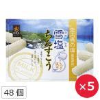 雪塩ちんすこう ミルク風味 南風堂 沖縄 土産 48個×5個