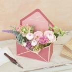 母の日 アーティフィシャルフラワー「ディア・リリィ」 日比谷花壇 花 プレゼント ギフト 母の日カード付き