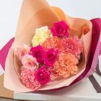 母の日 花束ユリ「カサブランカ」 日比谷花壇 母の日カード付き プレゼント ギフト 花 フラワー 2019