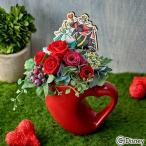 ディズニー プリザーブド アーティフィシャルアレンジメント クイーンオブハート ふしぎの国のアリス   日比谷花壇