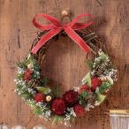 クリスマス・お正月2WAY手作りリースキット「プティレッド」 日比谷花壇