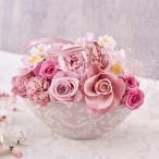 プリザーブド & アーティフィシャル アレンジメント 「さくらのころ」 ピンク系 日比谷花壇