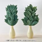 【お供え用】 プリザーブドフラワー 「榊(1対)」  日比谷花壇