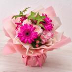 そのまま飾れるブーケ「シュガーピンク」  日比谷花壇
