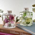 ハーバリウム Healing Bottle「SUGAR WHITE&TERRACOTTA PINK」 日比谷花壇