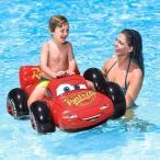 カーズ ライドオン キッズフロート ウォーターフロート ディズニー Disney CARS うきわ 浮き輪 海水浴 プール 川遊び INTEX インテックス