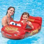 カーズ プールクルーザー キッズフロート ウォーターフロート ディズニー Disney CARS うきわ 浮き輪 海水浴 プール 川遊び INTEX インテックス