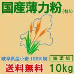 岐阜県産薄力粉(特A)10kg (送料無料)