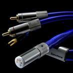 ゾノトーン フォノケーブル5Pinコネクター(ストレート)⇔RCA端子 1.5m 6NTW-6060(S)