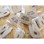 This is... ディスイズ... ATHLETIC SHOE LACES シューレース スニーカー 靴ヒモ 54inch Regular_natural