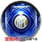 インテル・ミラノ(INTER) 4号合皮サッカーボール(カラー/ブラックブルー)