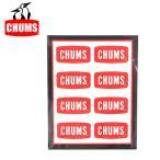 ステッカー シール chums ミニロゴ 8ピース CH62-0089