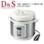 D&S ディーアンドエス 圧力鍋 家電 家庭用マイコン電気圧力鍋 STL-EC01  【雑貨】