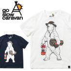 go slow caravan/ゴースローキャラバン Tシャツ USAコットン キャンパークマTEE (MENS) 461914 アウトドア プリントTシャツ【メール便・代引不可】