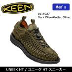 キーン KEEN スニーカー UNEEK HT ユニーク HT Dark Olive/Gothic Olive 1018027 メンズ 【靴】カジュアル アウトドア 海 ウォータースポーツ サンダル