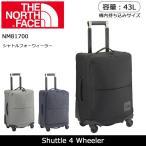 ノースフェイス THE NORTH FACE キャリーバッグ シャトルフォーウィーラー Shuttle 4 Wheeler NM81700 【NF-BAG】鞄 カバン かばん 旅行 キャリーバッグ