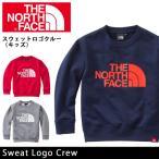 ノースフェイス THE NORTH FACE トップス スウェットロゴクルー(キッズ) Sweat Logo Crew NTJ11601(メール便対象)【NF-KID】