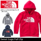 ノースフェイス THE NORTH FACE トップス スウェットロゴフルジップ(キッズ) Sweat Logo Full Zip NTJ11602(メール便対象)【NF-KID】