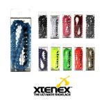 エクステネクス Xtenex The Ultimate Shoelace Sports 300 シングルカラー 1セット(2本・75cm) 「魔法の靴ひも」(メール便発送)