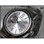 ≪即日発送≫★≪TECHNOS 腕時計 テクノス 腕時計 機械式 自動巻き T1078SS≫裏スケルトン