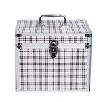 メイクボックス コスメボックス プロ用 大容量 トレイ付き 鍵付き コスメ収納 おしゃれ 防水 収納力抜群 取っ手付 持ち運び 卓上収納 かわいい