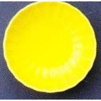 スリーライン 強化磁器漆器・弁当・配食(8.5寸用)旬彩弁当・松花堂弁当適合中子 菊形小鉢(イエロー)品番:EL-409Y