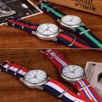 【期間限定!DM便送料無料&値下げ】 腕時計 メンズ レディース カジュアル ユニセックス ライン マリン シンプル スーツ ビジネス お揃い 送料無料 wt-31