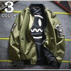 ショッピングミリタリー MA-1 フライトジャケット メンズ ミリタリージャケット リバーシブル ジャケット 春物 アウター MA1 ジャンパー ミリタリー 新品