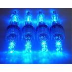its 集魚灯 LED ライト イカ釣り 夜釣り 水中 12cm (青色)