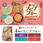 お試し1袋 選べるスープ&フォー 赤のアジアンスープ8食 おうちごはん ひかり味噌 お米麺 インスタント 唐辛子 ピリ辛