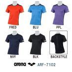 ARF-7102 ARENA(アリーナ) メガテックドライ テクニスタスムース Tシャツ スポーツウェア/トレーニング-HK