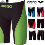 ARN-7011M ARENA(アリーナ) メンズ競泳水着 AQUAFORCE FUSION2 ハーフスパッツ 競泳水着/布帛素材/高速水着/FINA承認/男性用/スパッツ