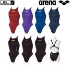 競泳水着 ARENA アリーナ FINA承認 レディース競泳水着 X-PYTHON 2 リミック クロスバック 女性用 ハイレグ ARN-7021W