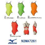 N2MA7261 MIZUNO(ミズノ) レディース競泳練習水着 EXER SUITS U-Fit ミディアムカット 女性用/長持ち/練習用/選手/ワンピース