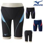ミズノ MIZUNO 競泳水着 メンズ 練習用水着 エクサースーツ ハーフスパッツ U-Fit 競泳練習水着 N2MB8078