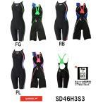 ●●SD46H3S3 SPEEDO(スピード) レディース競泳水着 FLEX Σ ウイメンズセミオープンバックニースキン7 女性用/競泳/ニット素材/FINA承認/ハーフスパッツ