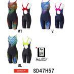 ●●SD47H57 SPEEDO(スピード) レディース競泳水着 Fastskin XT-W ウイメンズセミオープンバックニースキン 競泳水着/女性用/スパッツ/FINA承認