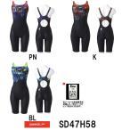 ●●送料無料 SD47H58 SPEEDO(スピード) レディース競泳水着 Fastskin XT-W ウイメンズセミオープンバックニースキン 競泳/スパッツ/FINA承認/女性用