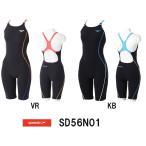 ●●SD56N01 SPEEDO(スピード) レディース競泳練習水着 ENDURANCE J ウイメンズスパッツスーツ 競泳水着/女性用/練習用/長持ち